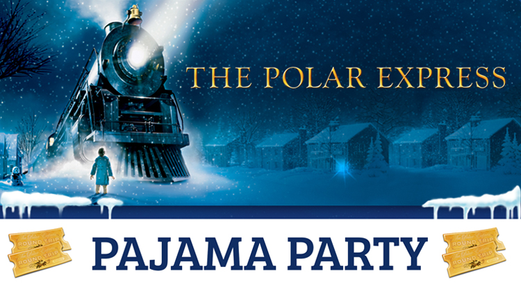The Polar Express Pajama Party